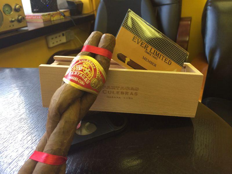Partagas Culebras , 帕塔加斯盘蛇雪茄
