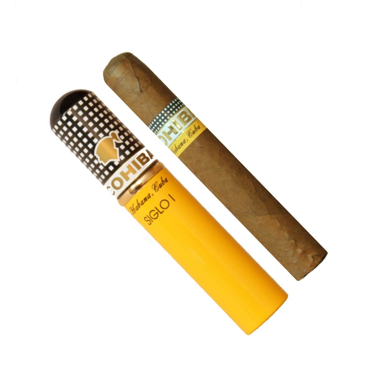 COHIBA Siglo i  Tubos Cigar,科伊巴高希霸世纪1号铝管装(筒裝)雪茄