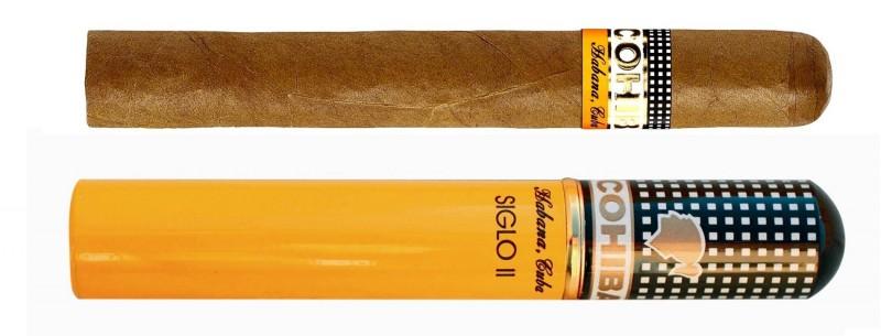 COHIBA Siglo ii  Tubos Cigar,科伊巴高希霸世纪2号铝管装(筒裝)雪茄