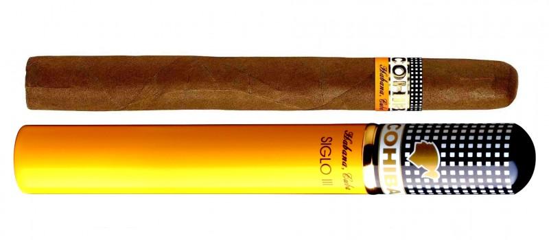 COHIBA Siglo iii  Tubos Cigar,科伊巴高希霸世纪3号铝管装(筒裝)雪茄