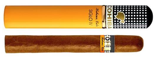 COHIBA Siglo iv  Tubos Cigar,科伊巴高希霸世纪4号铝管装(筒裝)雪茄