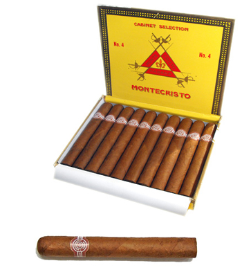Montecristo no.4 cigar 蒙特克里斯托四号雪茄