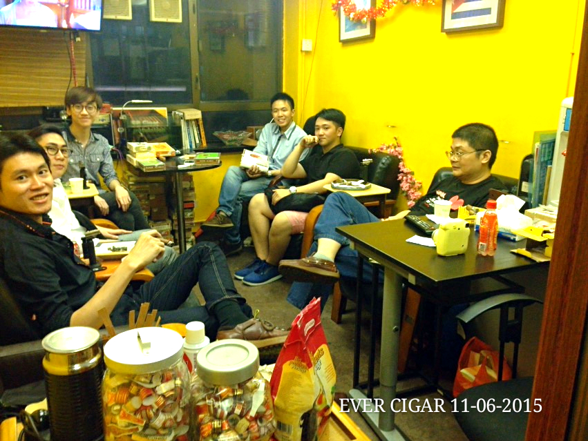Cigar Tasting Room in Mong Kok, Kowloon